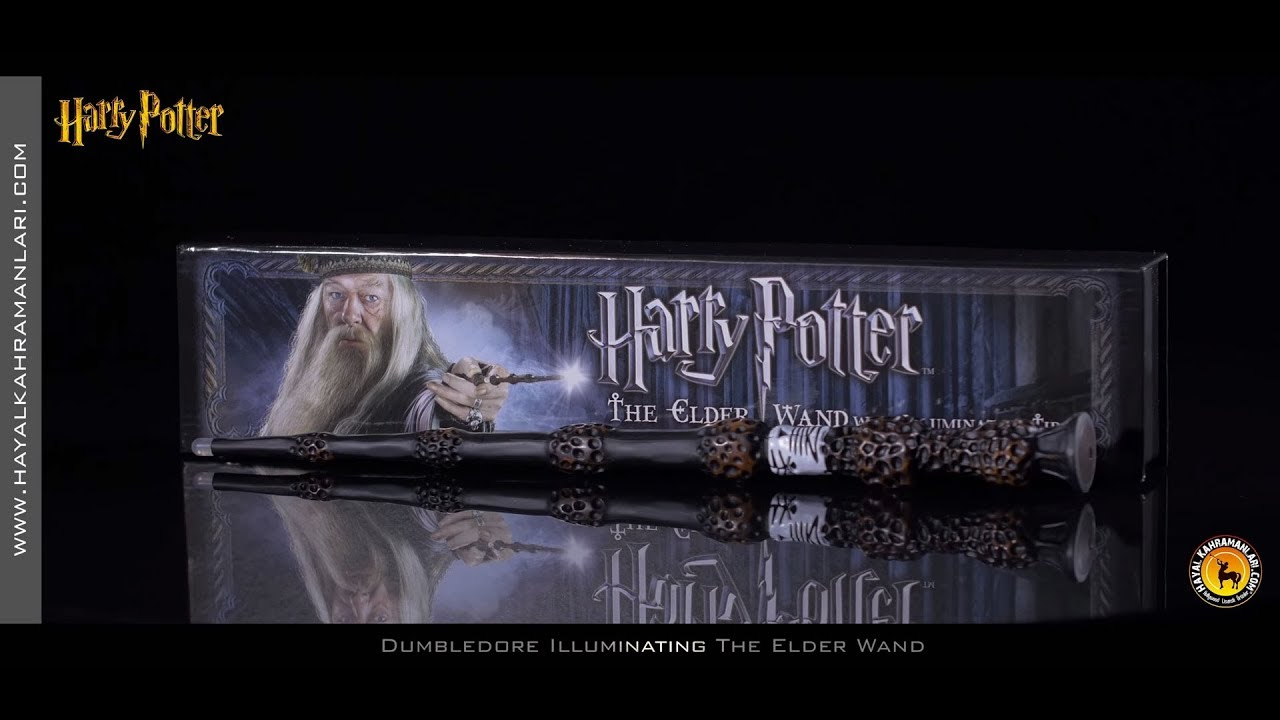The elder wand illuminating dumbledore 39 s wand harry for Harry potter elder wand buy