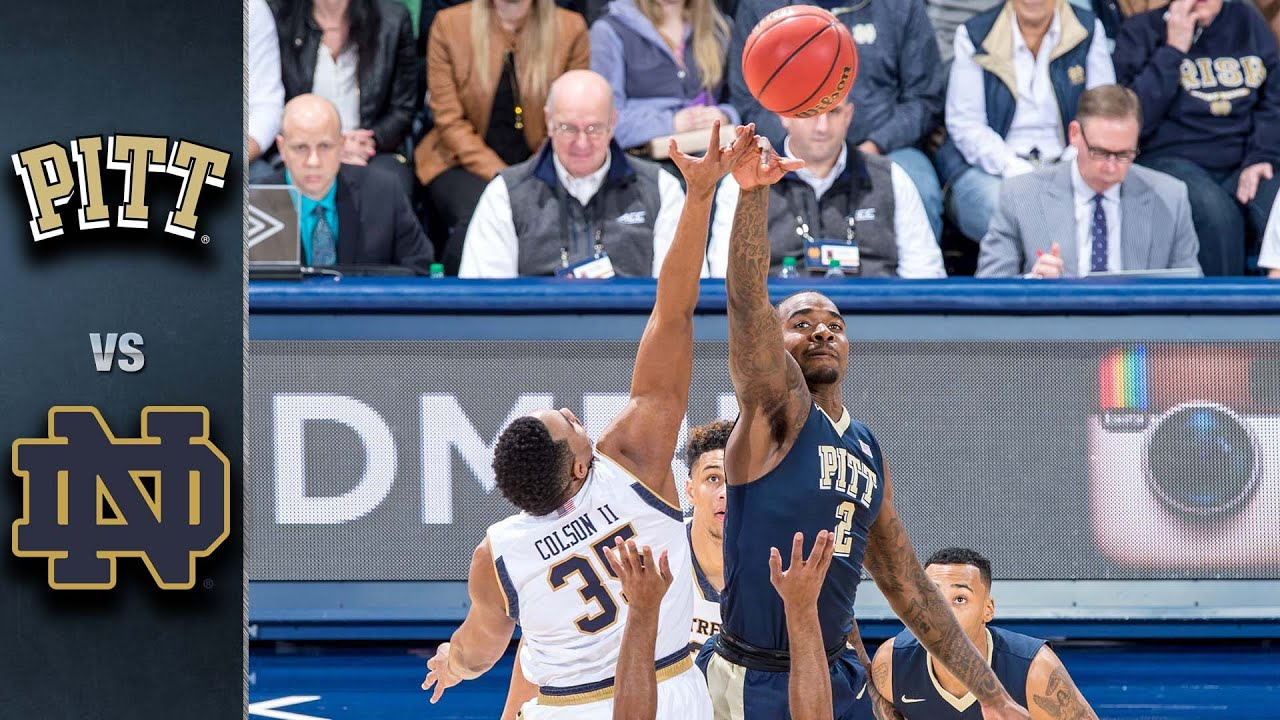 Image result for Notre Dame vs Pittsburgh basketball