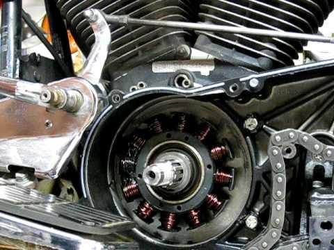 Kawasaki Brute Force 750 Wiring Diagram Stator Repair 4 Of 9 Removing Old Stator Youtube