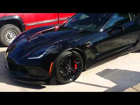 corvette 2015 z06 c7 supercharged all black - Corvette 2015 Z06 Black