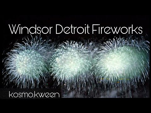 🎡Windsor Detroit Fire Works & Festival ♡ [2019]