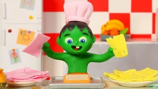 KIDS COOKING ❤ PLAY DOH CARTOONS FOR KIDS