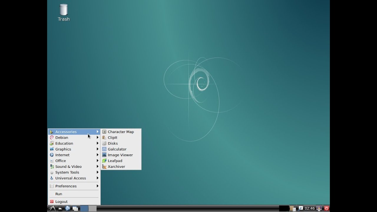 Linux Debian 8 LXDE 64bit. Install and brief review. - YouTube