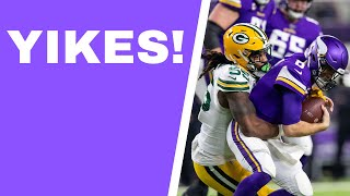 Vikings vs Packers recap: Green Bay wins NFC north, Aaron Rodgers gets first win at US Bank Stadium