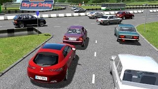 CITY CAR DRIVING - ALFA ROMEO BRERA - SIMULATORE DI GUIDA GAMEPLAY ITA