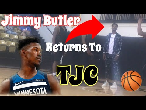 JIMMY BUTLER GETS INDUCTED INTO THE HALL OF FAME (at TYLER JUNIOR COLLEGE)