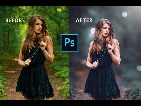Professional Color Correction   Cinematic Color Grading Tutorial Photoshop   Photoshop CS6 Tutorial