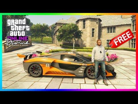 GTA 5 Online The Diamond Casino & Resort DLC - NEW UPDATE! Best Supercar, Lucky Wheel Cars & MORE!