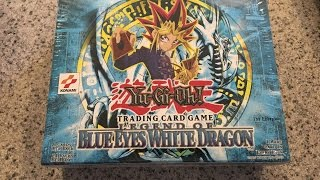 Yu-Gi-Oh! Legend of Blue Eyes White Dragon 1st Edition Booster Box Opening!