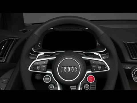 Audi R8 - Intérieur Animation 3D