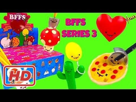 PLUS Kidrobot BFFS Series 3 - Full Case Blind Box Toy Unboxing by Fizzy Toy Show