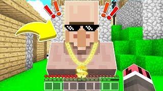 FAKİR ZENGİN KÖYLÜYÜ BULDU! 😱 - Minecraft