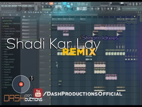 Shadi Kar Lay Shaam Idrees REMIX Mi Gente Mix   Dash Productions