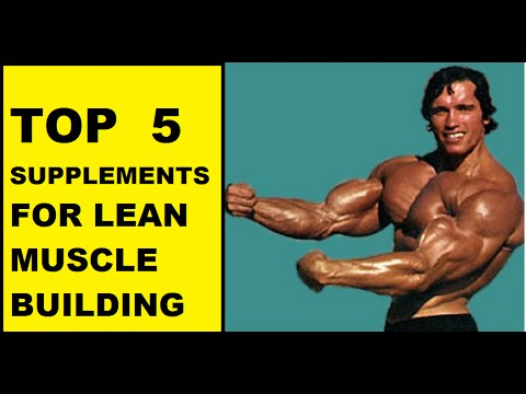 Top supplements for building muscle mass