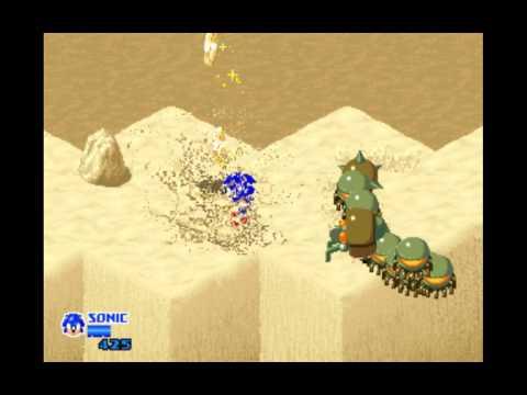 Sega sonic the hedgehog arcade full playthrough all ring bonuses