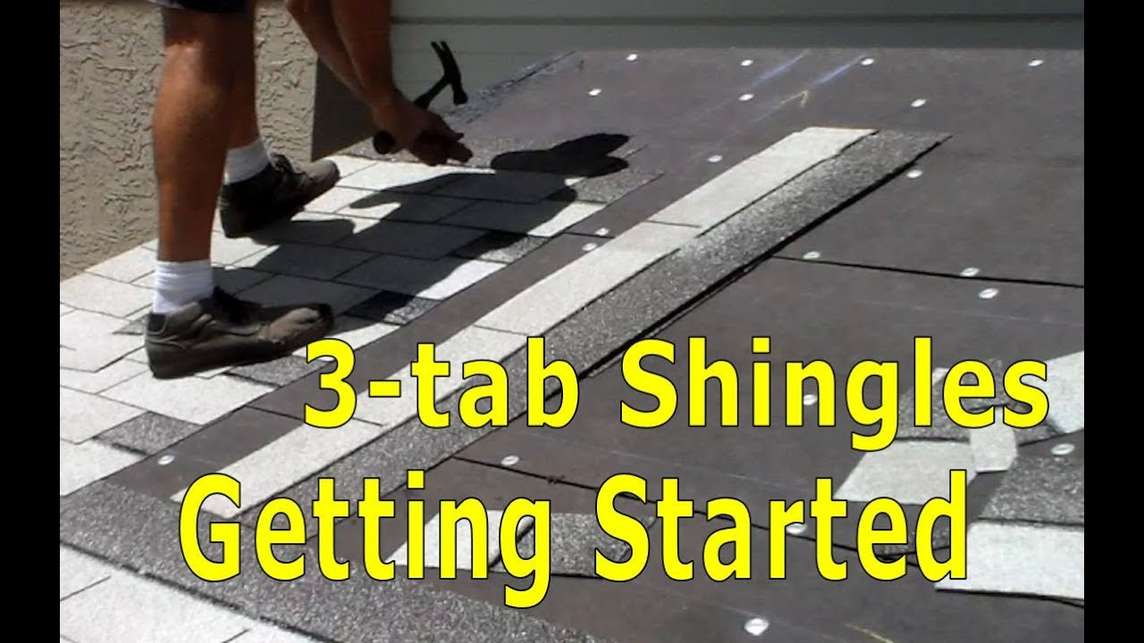 Roofing How To Install Asphalt Shingles Getting