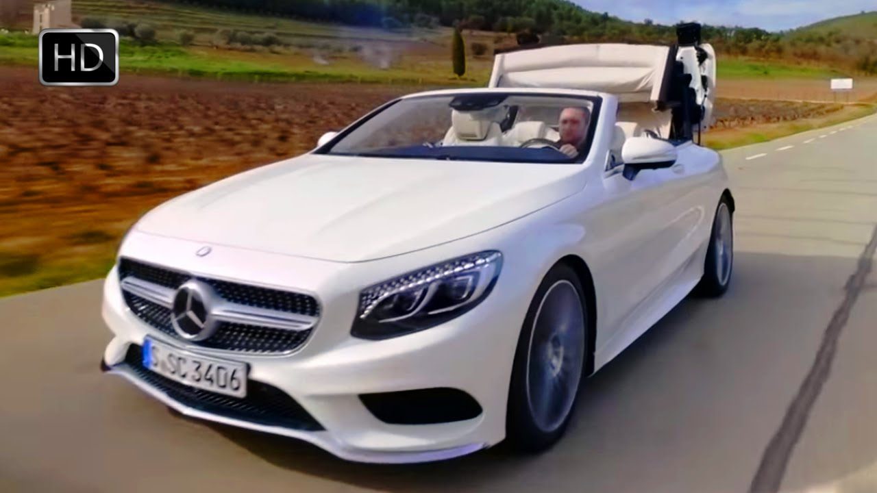 2017 mercedes benz s550 convertible 4 7 l twin turbo v 8 449 hp test drive hd youtube. Black Bedroom Furniture Sets. Home Design Ideas