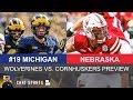 Michigan Football vs. Nebraska Preview: Jim Harbaugh & Scott Frost Square Off
