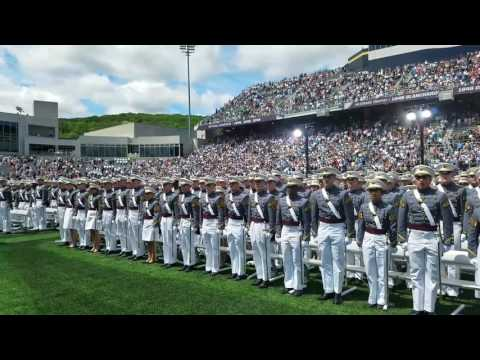2017 West Point Graduation: Oath to Hat Toss