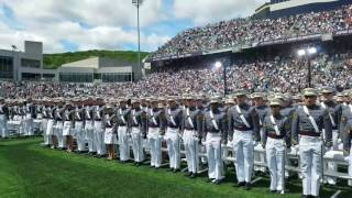 2017 West Point Graduation: Oath to Hat Toss