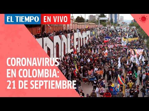 Coronavirus en Colombia: 21 de Septiembre del 2020