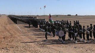 Western Sahara's forces military parade