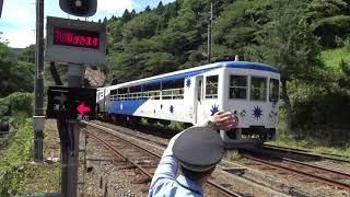 【20210723】JR木次線奥出雲おろち号出雲坂根駅発車