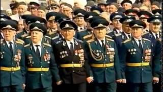 Парад Победы на Красной площади 1945,1995 гг