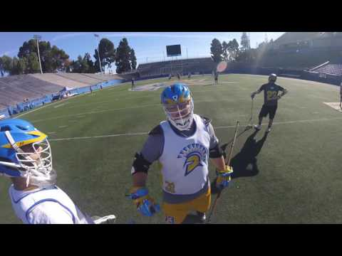 2016 San Jose State University Lacrosse Alumni Game