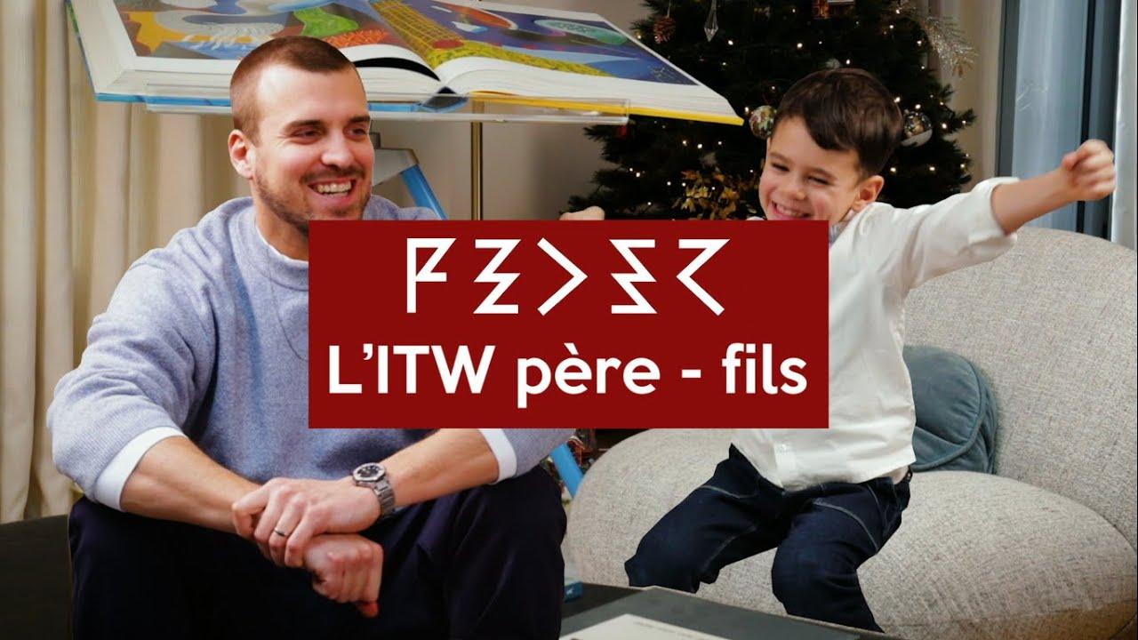 Interviewé par mon fils!