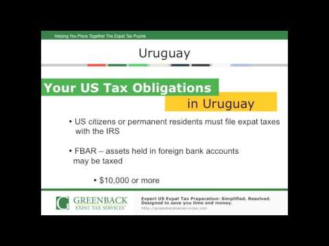 Top Tips for Filing US Expat Taxes in Uruguay
