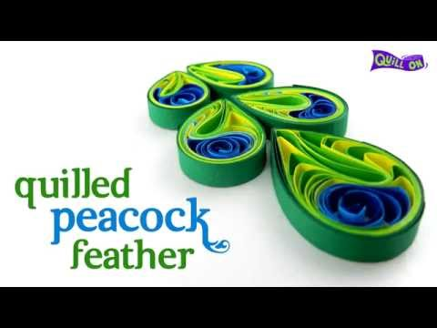 Interesting Quilling Peacock Feather , YouTube