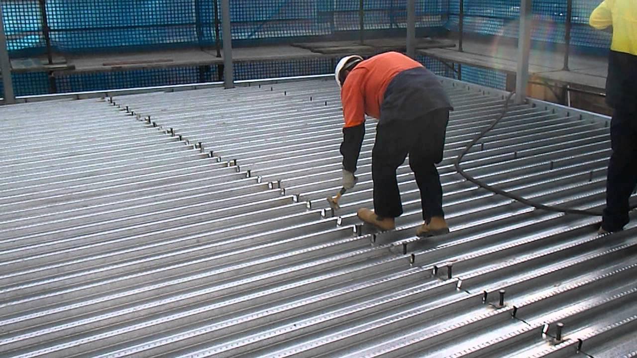 Lighting Basement Washroom Stairs: Shear Studs- Quality Control :-)