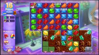 Wonka's World of Candy Level 581 - NO BOOSTERS + FULL STORY ???? | SKILLGAMING ✔️