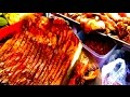 Asian Street Food - Cambodian Street Food Meat Stall - Foods In Asia