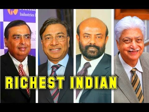 Top 20  Richest Man Of Indian 2017