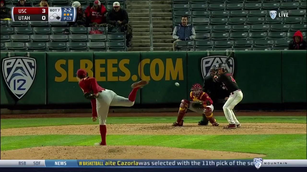 USC Baseball Highlights - USC 6, Utah 0 - 4/11/2019