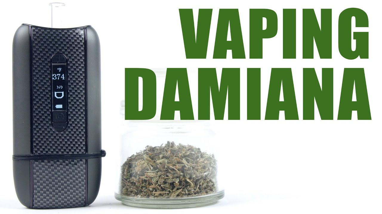 Vaping Damiana with the Ascent Vaporizer - You Can Vape What!?
