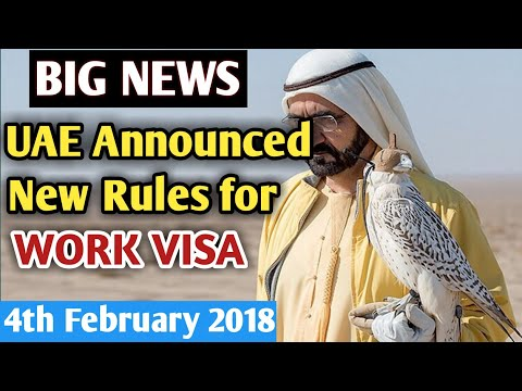 New UAE EMPLOYMENT VISA RULES For WORKERS 2018 | Good Conduct Certificate