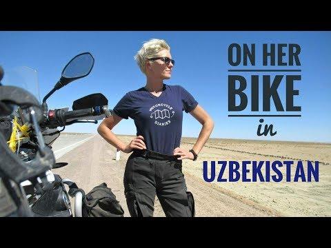 Uzbekistan. On Her Bike Around the World. Episode 8