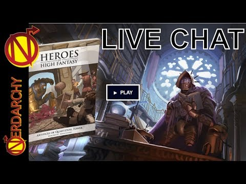 Talking D&D and Gaming With Nord Games- Nerdarchy Live Chat #118