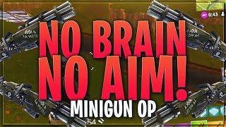 TSM Myth - NO BRAIN, NO AIM, I'M A MINIGUN MAIN (Fortnite BR Full Match)