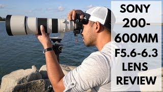 Sony 200-600mm F5.6-6.3 G Seri…