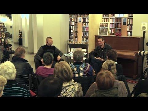 Ari Wahlsten ja Juha Hurme haastattelevat toisiaan uutuuskirjoistaan