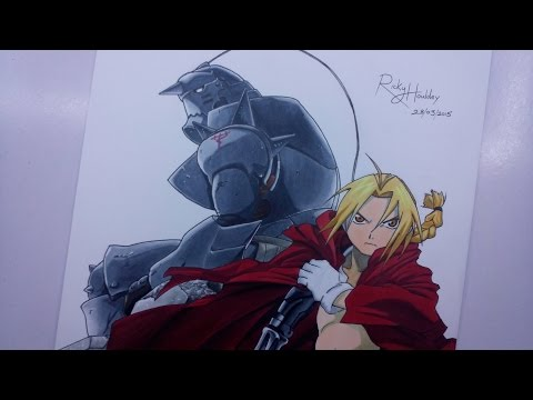 how to draw edward elric dragoart