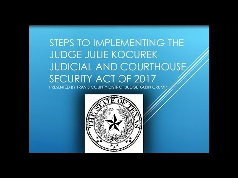 Understanding Courthouse Security Committees