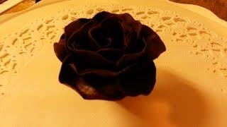 How To Make Handmade Chocolate Roses