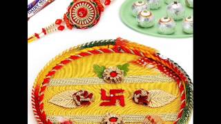 Get latest designs Rakhi Thali on Raksha Bandhan from www.onlinerakhiwala.com