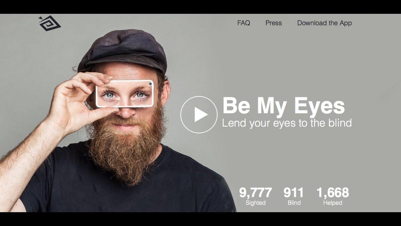 video Be My Eyes – Blinden-App