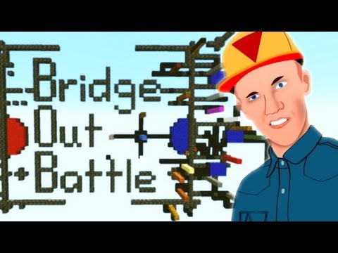 Bridge Out Battle 2 VS 2! - Milan & Don & Matthijs & Towie